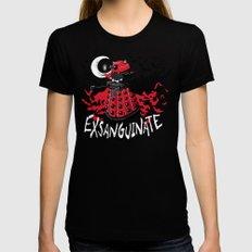 Exsanguinate! MEDIUM Womens Fitted Tee Black