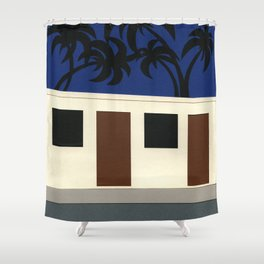 Broadway Motel Los Angeles Shower Curtain