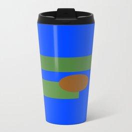Abstract Pepe Travel Mug