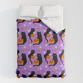 Halloween Kitty Comforters