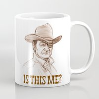 kubrick Mugs featuring Is This Me? by castlepöp