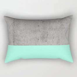 Sea on Concrete Rectangular Pillow