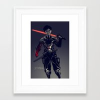 geo Framed Art Prints featuring Geo by Benedick Bana