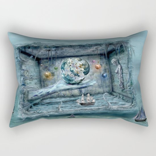 Save our World 20  Rectangular Pillow