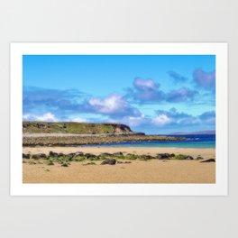 Dugort Headland On Achill Island Art Print