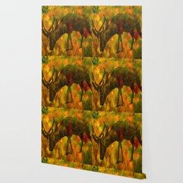 Camouflage Deer Wallpaper