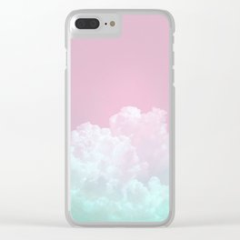 Dreamy Candy Sky Clear iPhone Case