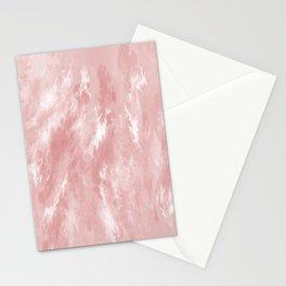 Pale Pink Haze Stationery Cards