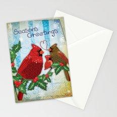 Seasons Cardinals Greetings Stationery Cards