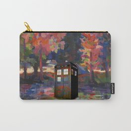 TARDIS PAINT Carry-All Pouch
