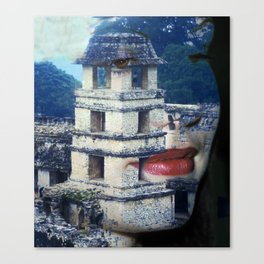 Chiapas Vision Canvas Print