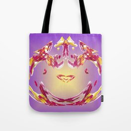 the inner heart - das innere Herz Tote Bag