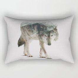 Winter Hunter Rectangular Pillow