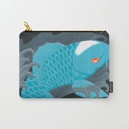 Love Koi Pastel Blue Carry-All Pouch