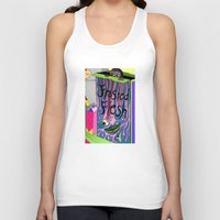 in the flesh Tank Tops featuring Frosted Flesh by Masmantha