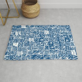 Be Square. Be a classic with an attitude. Rug