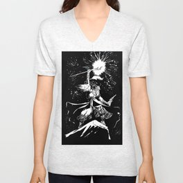 SPACE WIZARD Unisex V-Neck