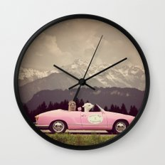 NEVER STOP EXPLORING VII Wall Clock