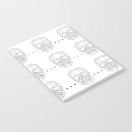 Skull Pattern Notebook