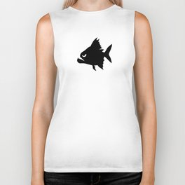 Angry Animals - Piranha Biker Tank