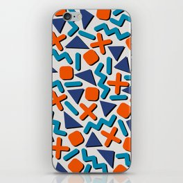 90s Retro Memphis Pattern iPhone Skin