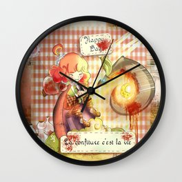 La confiture Wall Clock