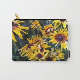 Flower Bursts Carry-All Pouch