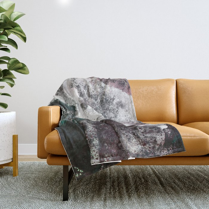 Abstract Sea, Water Throw Blanket