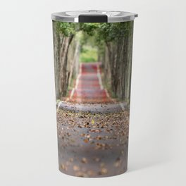 wood le chemin Travel Mug
