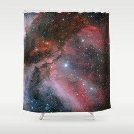 Carina Nebula Space Art Shower Curtain