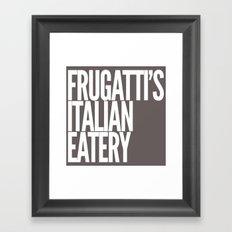 Frugatti's 2 Framed Art Print