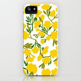 Little yellow flower iPhone Case