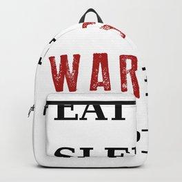 Eat Sleep Warships Repeat - Warships of the World Backpack