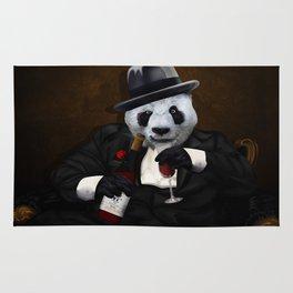 PANDA with Tuxedo Rug