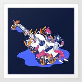 WonderUke Art Print