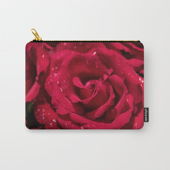Red roses - Red Rose Photography Carry-All Pouch
