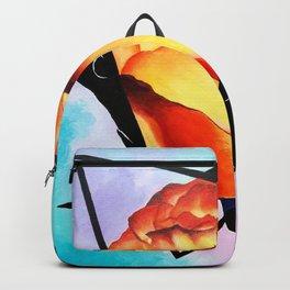 Fire Rose Backpack