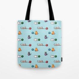 Cats at play Tote Bag