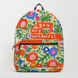 You Are Wonderful Backpack