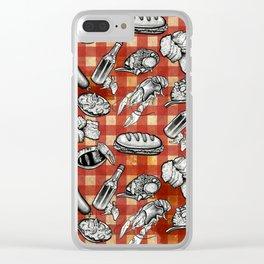 Cajun Food! Clear iPhone Case