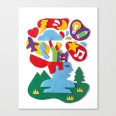 Brainstorming Canvas Print
