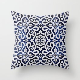 StoryTile of Portugal Throw Pillow