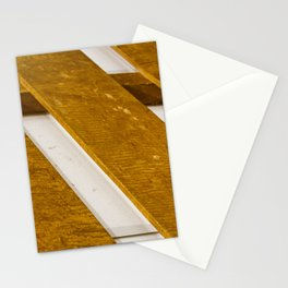 Lines Wood Stationery Cards