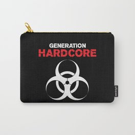 Generation Hardcore Music Quote Carry-All Pouch