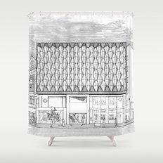 Oxford Street Shower Curtain