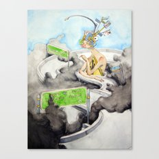 The Alluring Annoyance of...Transit Canvas Print