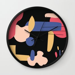 Abstract Color 2 Wall Clock
