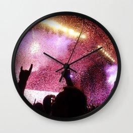 Rock Show Wall Clock