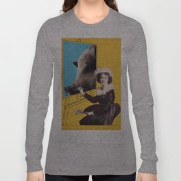 Vintage photo collage #212 Long Sleeve T-shirt
