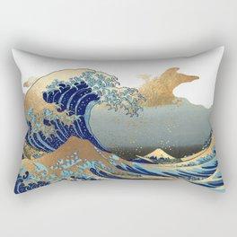 The Great Waves by Hokusai Rectangular Pillow